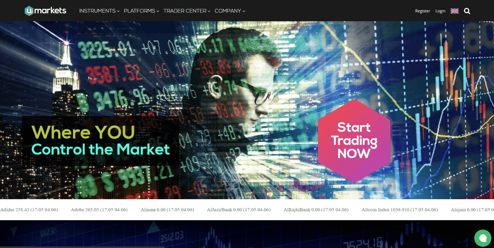 What Umarkets forex broker offers you when investing your money